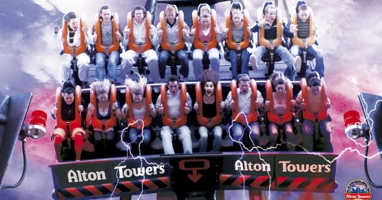 Picture of Alton Towers ride
